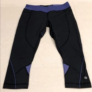 Lululemon Crop Leggings.